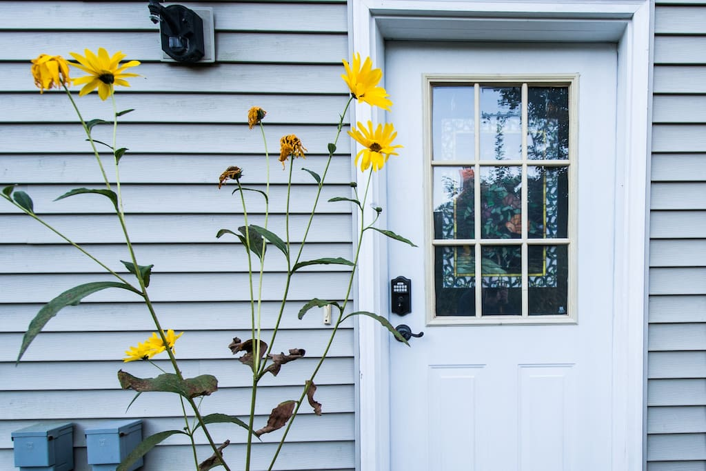 Entrance to your home away from home... keyless entry.