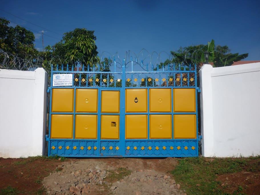 Our distinctive gates!