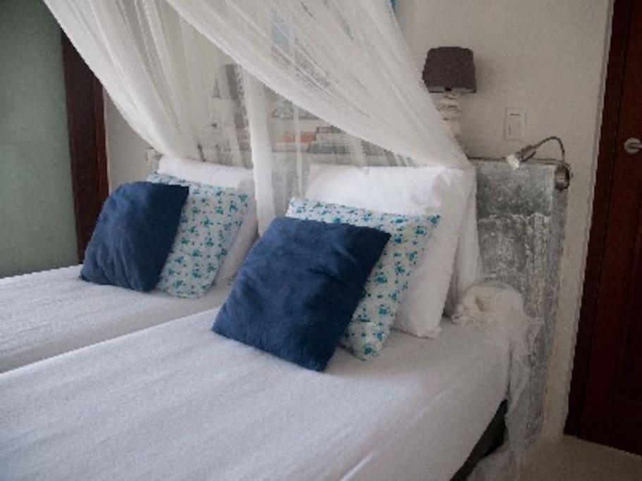 Habitacion Doble en Bonaire Paraiso Tropical