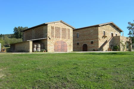 Agriturismo Barbi - Appartamento Montello 2 - Monticchiello - Leilighet