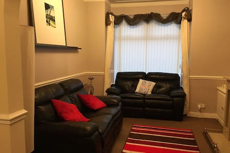 Double Room in Well Kept House - Manchester