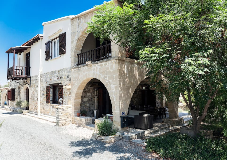 Nestled in the Cyprus hills amidst the tranquillity of country surrounds.