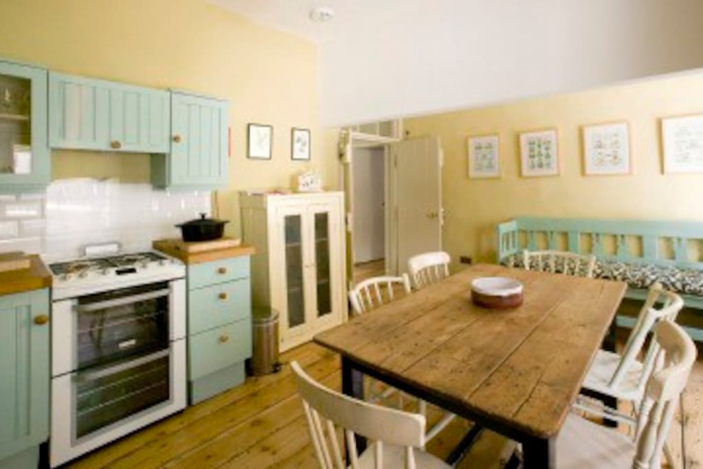 Kitchen at the Merrion Mews