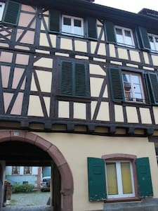 Downtown Barr, Bas-Rhin, France - Barr