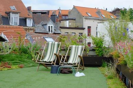 Spacieux studio + Jardin