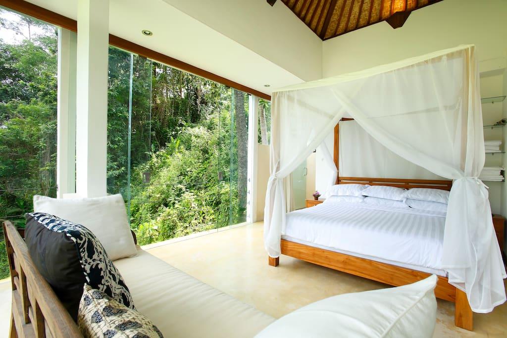 Spectacular Jungle View Villa