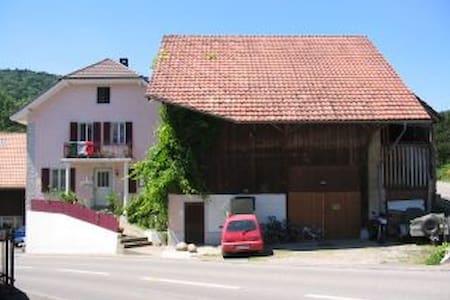 Gemütliches Studio in ruhigem Dorf - Wohnung