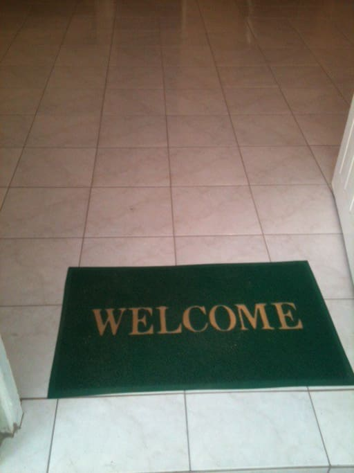 Welcome to your flat.