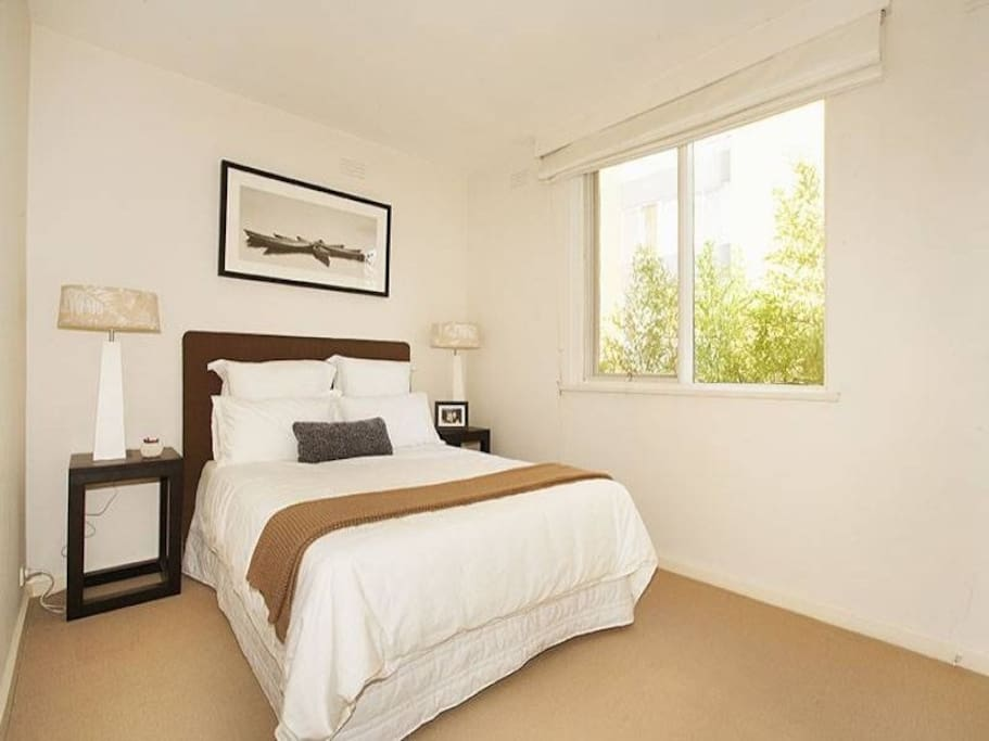 both bedrooms have a Queen sized bed - all bedding and sheets provided