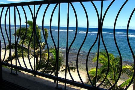 Killer View from Beachfront Condo - Waialua - Appartamento