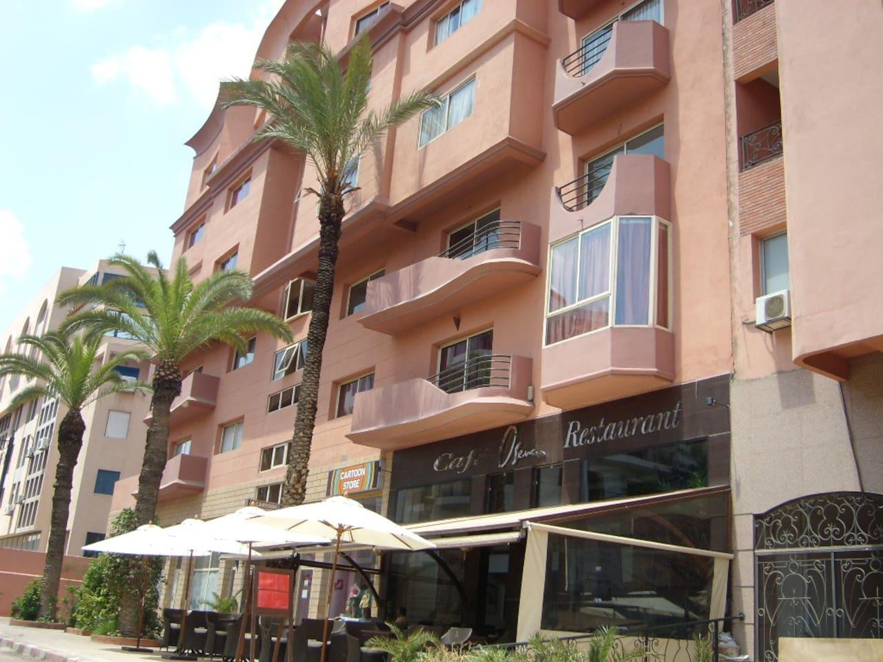 Marrakech-Gueliz-Plaza Top located!