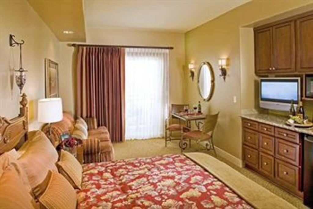 King studio suite with sofa sleeper