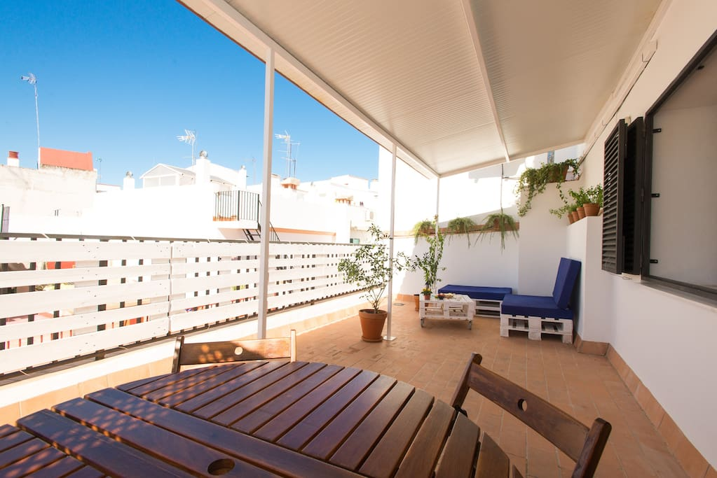 CENTRAL  Penthouse with BIG TERRACE