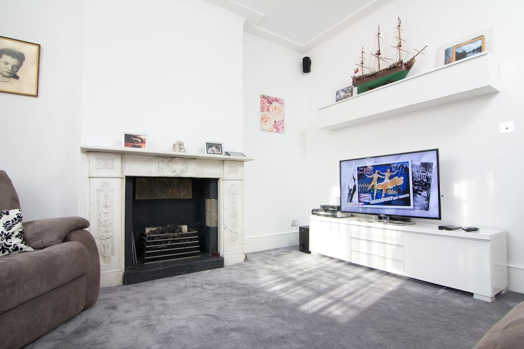 The lounge. Be comfortable, be relaxed here watching Sky or other Satellite channels from around the world ( France, Germany, Italy, Czech, Slovakia, Ukraine, Middle East and many more). Surround sound available. 3D TV with Internet too