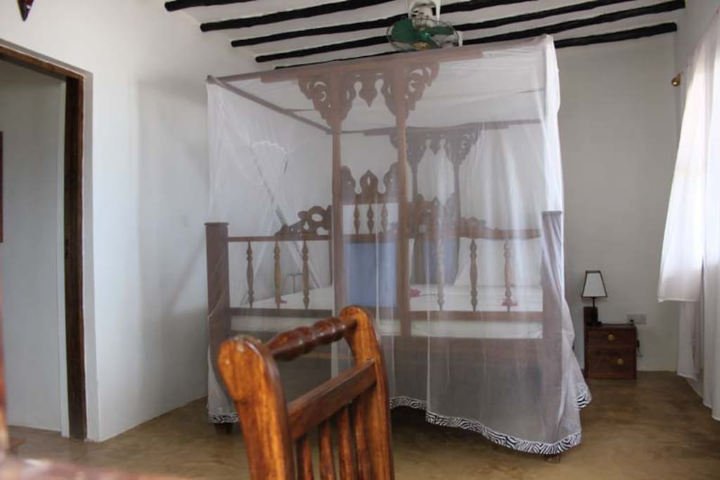 One of the Baharini bedrooms