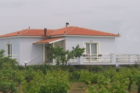 Two-bedroom house with garden in Kalloni of Lesvos - Lesvos - House