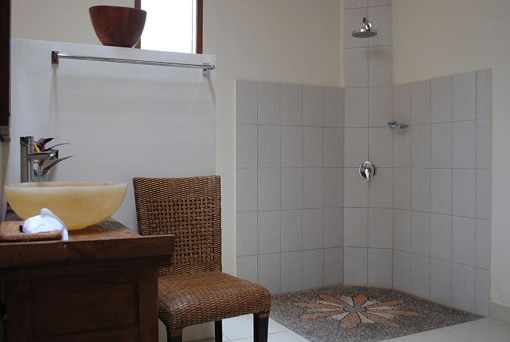 The very spacious bathroom for the master bedroom.