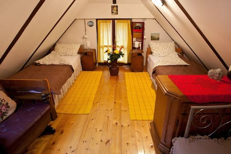 A comfortable attic for 2-3 persons - Zagreb - Leilighet