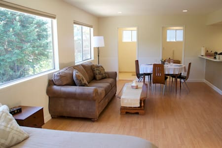 Large private studio in the trees - Novato - Haus