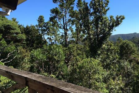 Lone Kauri Cabin - Blockhütte