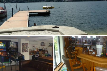 Lakefront-Beach-Gameroom-Hottub-Bar - Talo