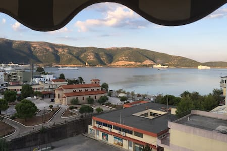 The Best View in Igoumenitsa, Top Floor Apartment - Lägenhet