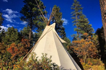 Los Vallecitos Retreat Tipi - 穆拉 (Mora)