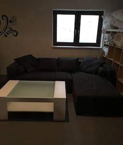 Modernes Kellerzimmer, viel Platz - Unterhaching - House