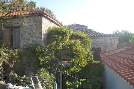 greek typical home village - Eresos