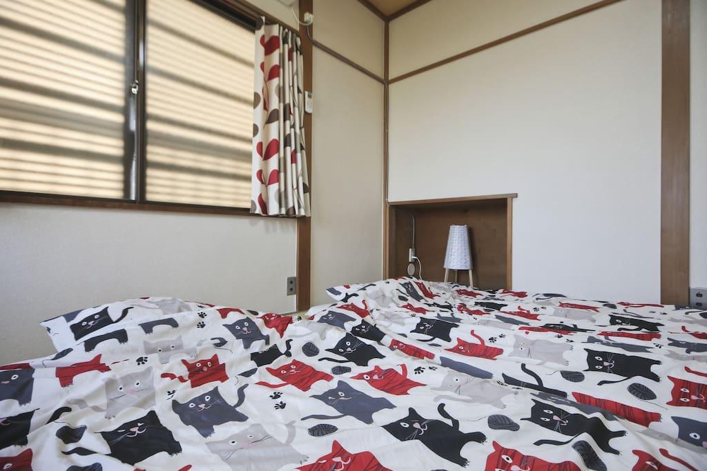 Tokyo ota japanese Tatami room.