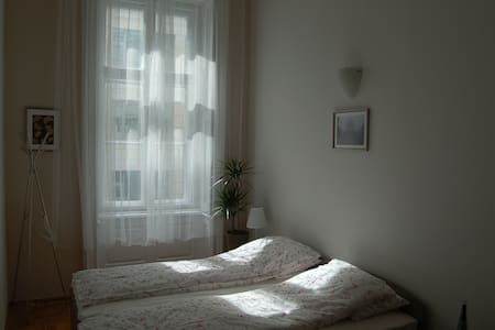 CITY CENTER DUNA HOSTEL separate room&private bath - Budapest - Wohnung