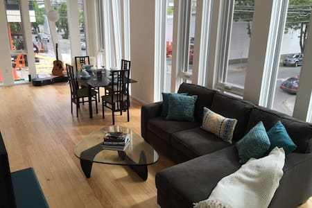 Modern Chic 2 bedroom loft - Portland - Apartment