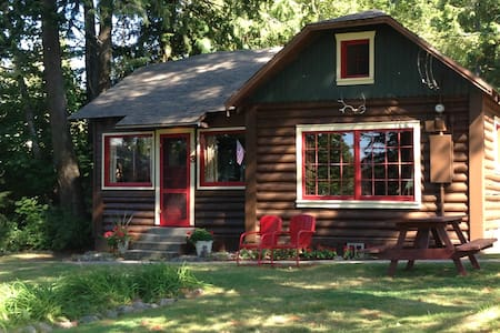 Cozy peaceful log cabin on the lake - Kisház