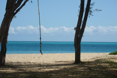 Driftwood Hideaway walk to #1 Beach - Waimanalo Beach