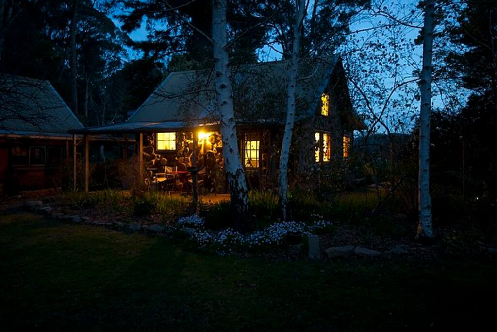 Garden Cottage - twilight