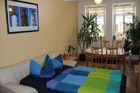 Modern guest room centrally located - Leipzig - Bed & Breakfast