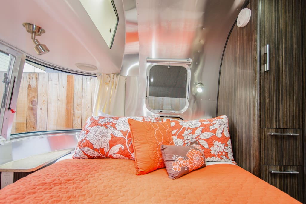 Airstream in the heart of the city.