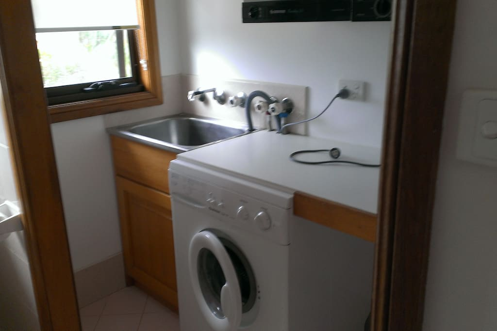 Laundry facilities with dryer