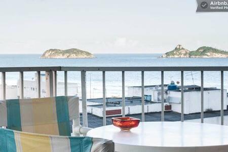 FLAT , CONFORTO, PRAIA, H. WINDSOR - Rio de Janeiro - Apartment