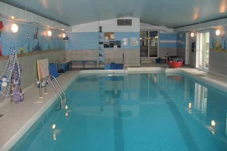 2 Chambre à la campagne, accès piscine intérieure - Saint-Paul