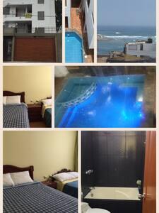 Habitaciones en casa de playa - Lurin  - House