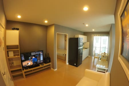 2 bed room and living room, Wifi - Apartment