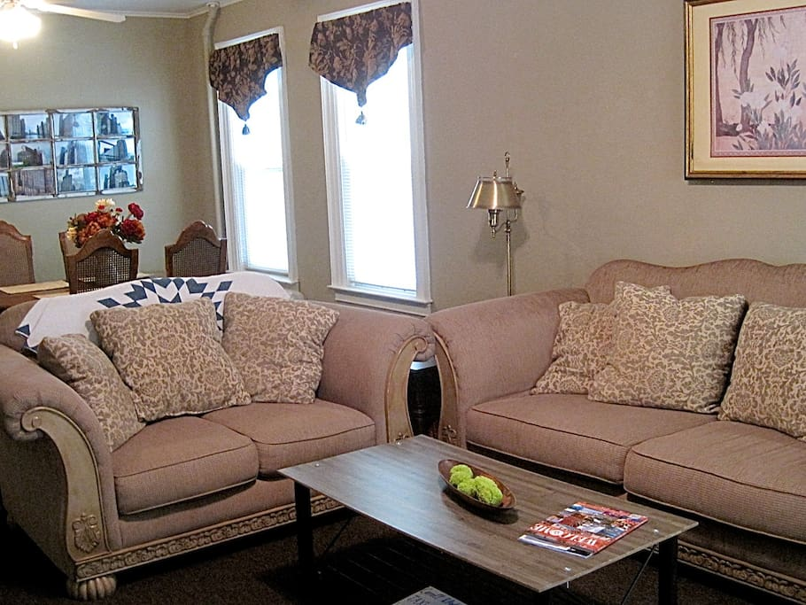 Relax on our comfy couches