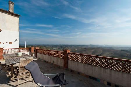 Terrace on Chianti of Pisa Volterra - Apartment