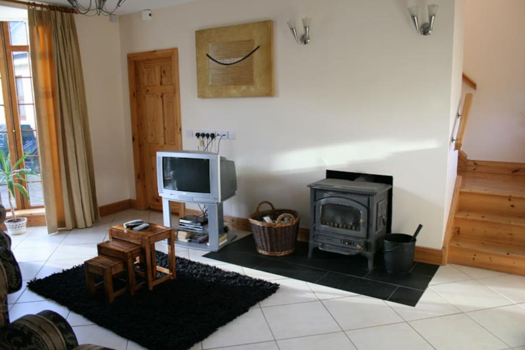 Beech Lodge Living Area