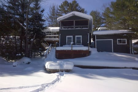 Muskoka Cozy Winter Ski Chalet - Port Severn