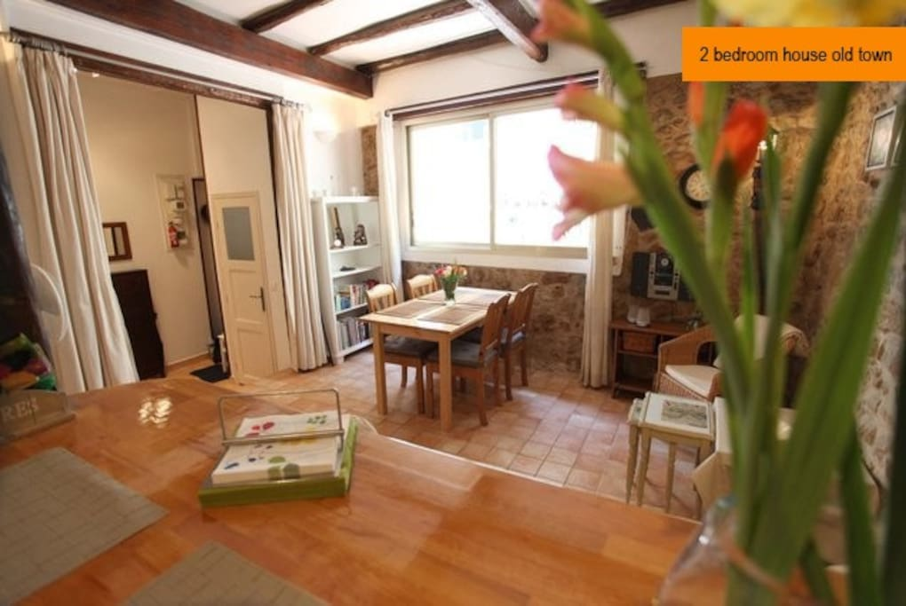 antibes old town 3 bedroom house