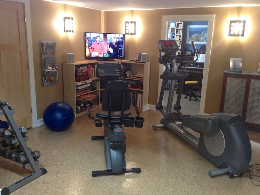 Workout room!!!