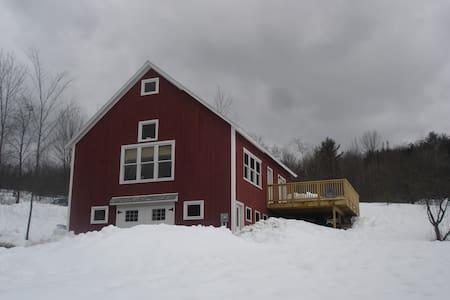 The Breadloaf Barn House Rental