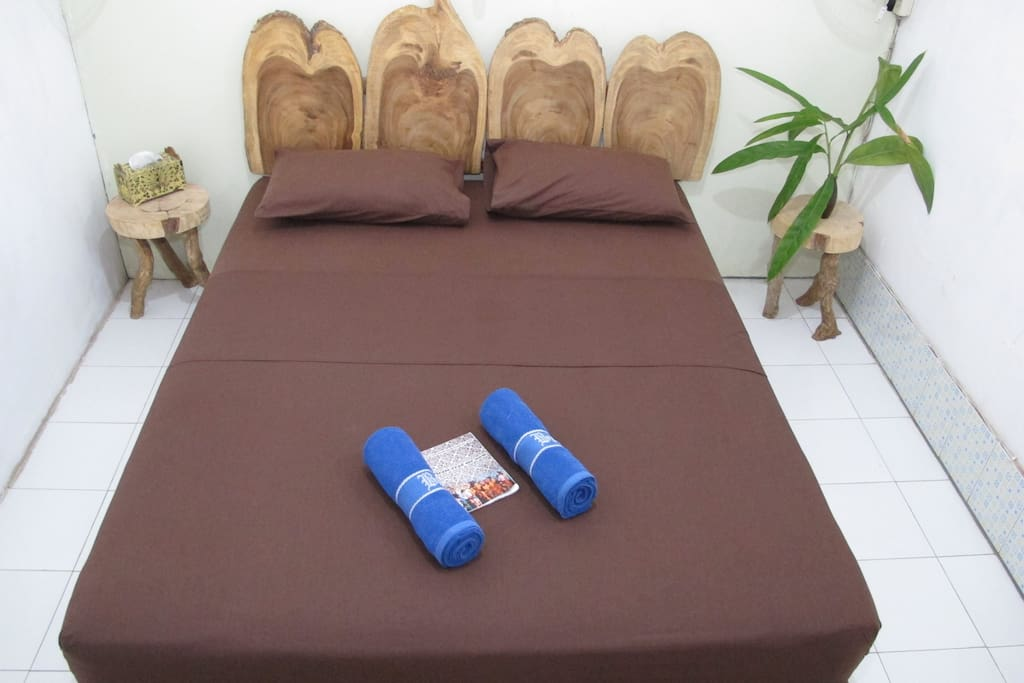 Sweet comfy queen size bed for your stay